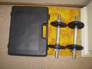 Celsius 20 kg weight set Barden Ridge Sutherland Area Preview