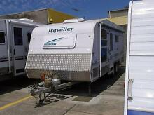 2006 Traveller Hurricane Caravan 21ft Ormiston Redland Area Preview