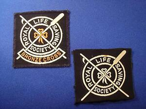 COLLECTABLE – c.1970 ROYAL LIFE SAVING SOCIETY CLOTH BADGES Forest Lake Brisbane South West Preview