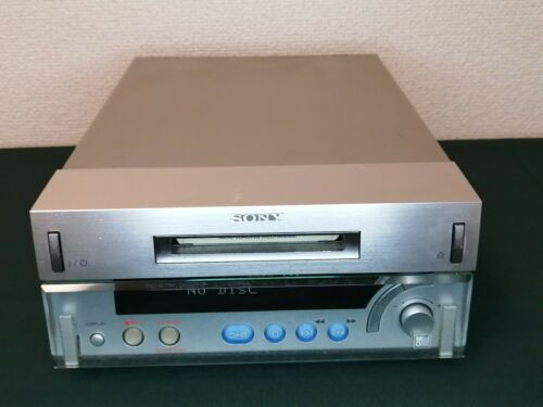 SONY MDS-SD1 MiniDisc MD Deck Player Recorder JAPAN Used