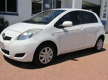 2011 Toyota Yaris Automatic 5 Door Hatch Hermit Park Townsville City Preview