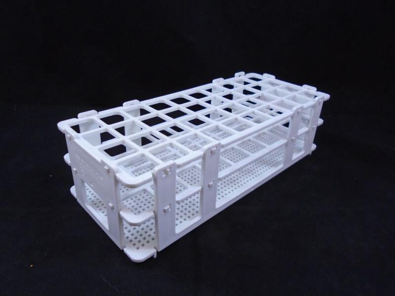BEL-ART No-Wire Plastic Folding 40-Position 20mm Test Tube Rack Holder Support B