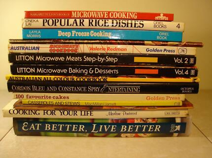 14 BOOKS FOR HOME COOKING and HOME ENTERTAINING Forest Lake Brisbane South West Preview
