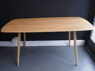 1970s Ercol 'plank' dining table
