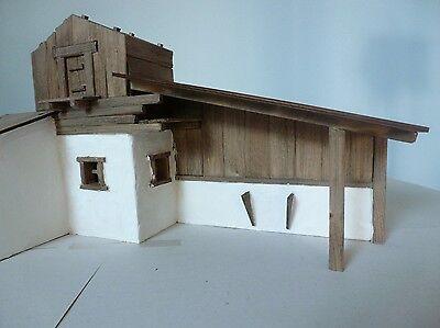 krippenbausatz krippe bergbach 9 10cm bausatz zum krippe selber bauen. Black Bedroom Furniture Sets. Home Design Ideas