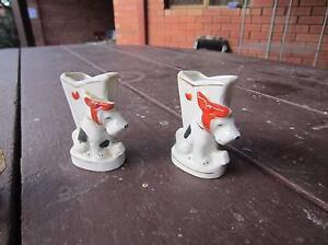 ceramic dog pair-vintage Hamilton Hill Cockburn Area Preview