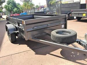 9X5 BOX TRAILER HIGH SIDE WITH MECH BRAKES+ I YR PRV REGO $1950/= Wollondilly Area Preview