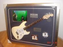 AC/DC Guitar signed by all band members Bundall Gold Coast City Preview