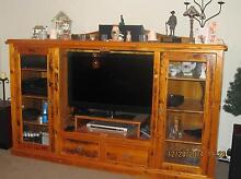 Recycled Baltic Pine Entertainment Unit - Handmade Murrumbateman Yass Valley Preview