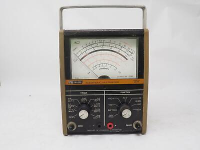 Vintage Bk Model 277 Electronic Multimeter Test Equipment Tested Free Shipping