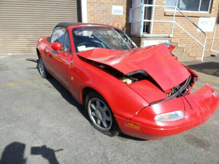 1989 Mazda MX5 Convertible RWD-Now wrecking most parts available Brisbane City Brisbane North West Preview