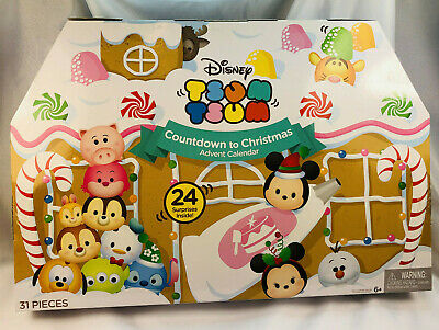 Disney Tsum Tsums Countdown to Christmas Advent Calendar 31 Pcs 2016 Ages 6+