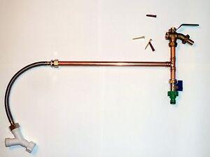 washing machine tap connector kit