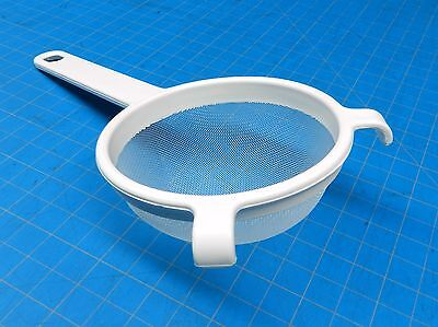 Plastic Strainer Cooking 3-1/2 Swiss Made 100% Plastic & Nylon Polyester Mesh