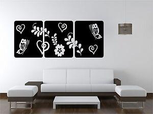 FLORAL-SQUARES-vinyl-art-sticker-bedroom-lounge-butterflies-hearts