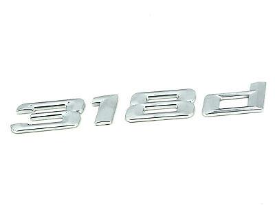 Kyпить Genuine New BMW 318d BOOT BADGE Rear Emblem For 3 Series F30 F31 2011+ 318 d на еВаy.соm