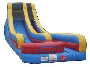 New-18-Commercial-Inflatable-Water-Slide-Wet-Dry-Slides-Bounce-House-Combo-sb