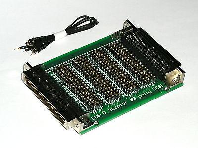 Sub D Mess Und Prüf Adapter 68 Polig High Density Scsi Neuware