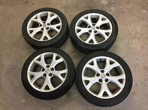 "17"" Mazda 3 GT Rims and Tires"