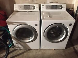 LG washer and gas dryer