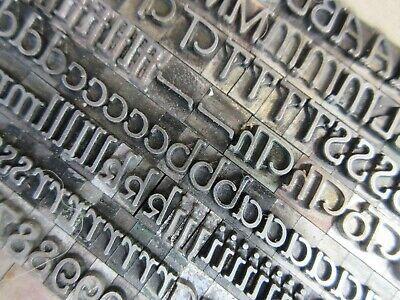 Letterpress Lead Type 30 Pt. Parsons Italic B B S  B31