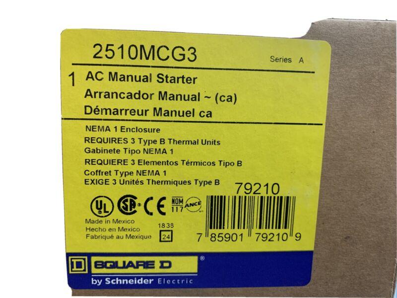 2510MCG3 Square D Manual Starter