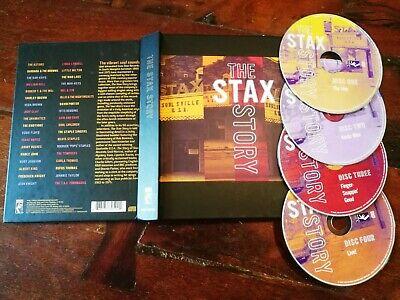 The Stax Story (Otis Redding/Mavis Staples/Albert King) Box 4x Cd Perfetto Mint Albert King-box