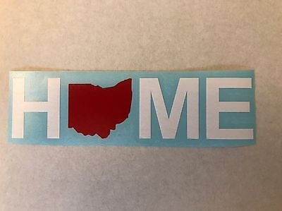 Home Decoration - Ohio Home Vinyl Sticker / Decal