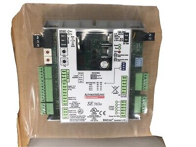 Automated Logic Se 563a Bacnet Control Module New
