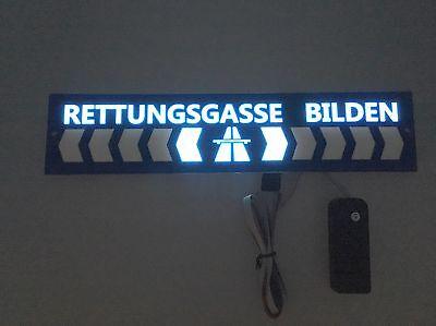 Rettungsgasse Bilden Schild Neu 2017