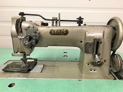 Pfaff 546 2-needle Walking Foot 58 Rev 110v Servo Industrial Sewing Machine
