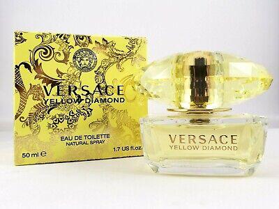 Versace Yellow Diamond EDT 1.7 fl oz New in Box Eau de Toilette Perfume Fragranc