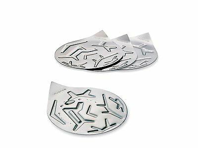 Nuance Denmark Stainless Steel Drink Coasters - Set of 4