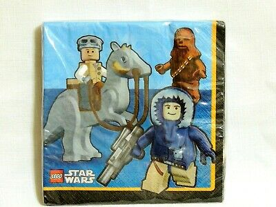 Star Wars Lego Party Supplies (LEGO  ~STAR WARS~16--PAPER LUNCH  NAPKINS     PARTY)