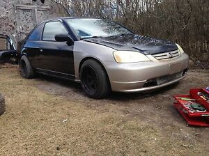 Honda Civic coupe part out