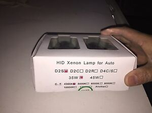2 HID Xenon Lamp for Auto NEW and UNopened package Edmonton Edmonton Area image 1