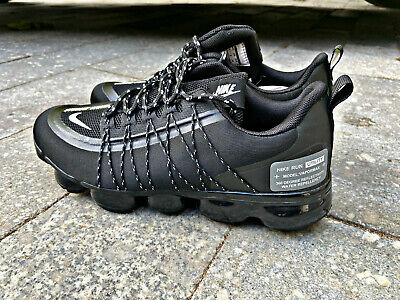 Nike Vapormax Black Running All sizes UK 3-11 , EU 36-45 new with box