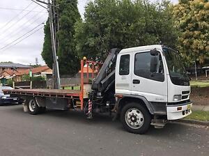 Crane truck hire / hiab with driver Strathfield Strathfield Area Preview