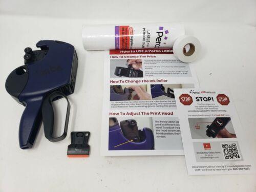 USED Perco Pro 2 Line Price Gun Labeler Kit - Includes 2 Line Pricing Gun 10,500