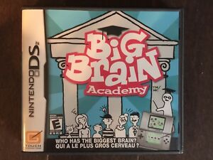 Big brain academy Nintendo ds game