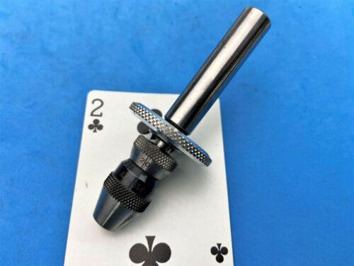 "Albrecht sensitive feed Micro Precision keyless chuck 1/2 shank 0-1/16"" 0-1.5mm"