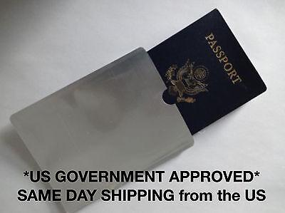 RFID Passport ID Sleeve Protector Blocking Safety Aluminum Shield Anti Theft