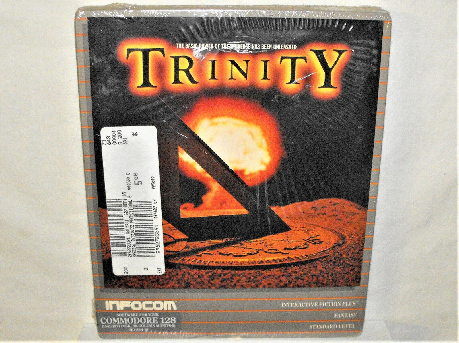 Computer Games - Commodore 64/128 PC Computer Game TRINITY Infocom Disk Fantasy Sci-Fi Sealed Box