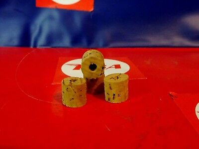 BSA  & CLASSIC BIKES ...PETROL TAP PLUNGER REPLACEMENT CORKS...(4)