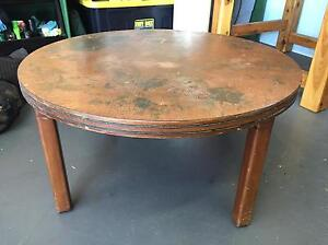 Copper topped coffee table Wellington Point Redland Area Preview