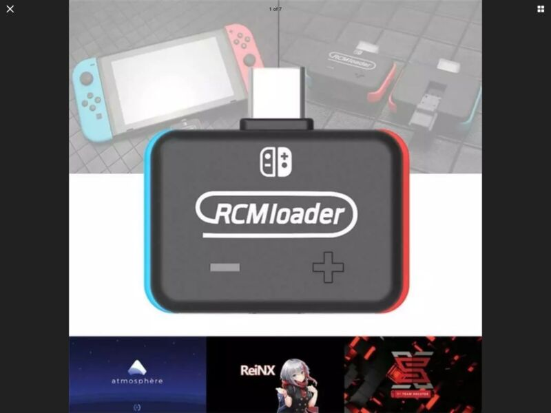 Newest RCM Payloads Injector USB-C type Boot Atmosphere  loader ship now from CA