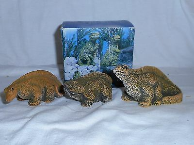 Poly Stone Dinosaur Miniature Figurines #2020