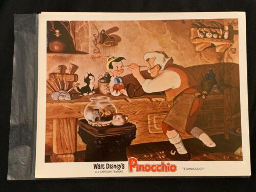 Pinocchio Original Lobby Card R71 Walt Disney Productions 1