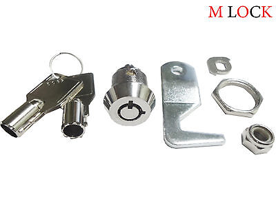 Lot Of 2 Homak Tool Box 58 Tubular Cam Lock 90 Degree 2 Key Pull. Key Alike