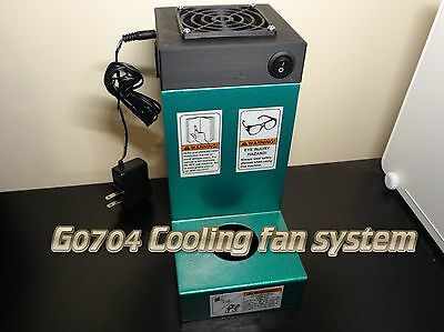 G0704 G0758 Grizzly Mill Spindle Cooling Fan System Cnc Mach3 Conversion